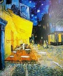 Terrazza del caffè la sera; 1888 Vincent Van Gogh